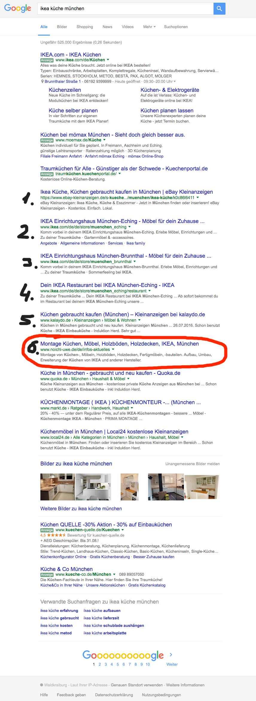 Uwe Noichl / noichl-uwe.de bei Google