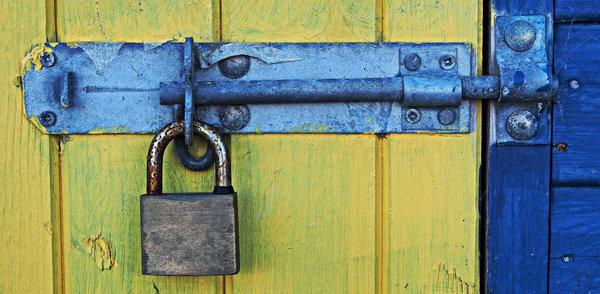 Vorhängeschloss - Sicherheit