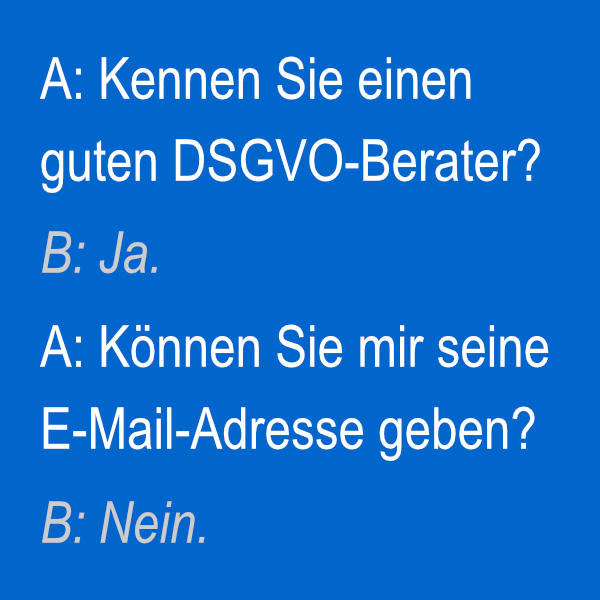 DSGVO-Berater